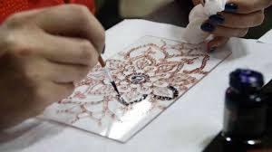 Pittura  su vetro e precisione!